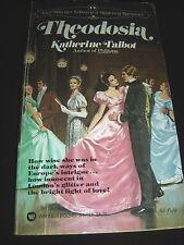 Theodosia By Katherine Talbot Regency Romance 1st Printing May 1980 Paperback