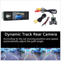 1DIN 4.1in Car Radio Stereo USB Bluetooth AUX Audio FM MP5 Player With Camera