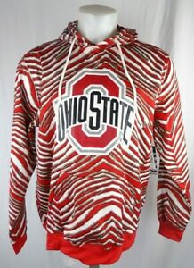 Ohio State Buckeyes NCAA Men's Zubaz Pullover Hoodie