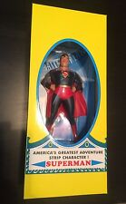 "8"" Golden Age Depiction Superman Statue MIB SEALED 1999"