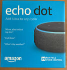 2 Amazon Echo Dot (3rd Generation) Smart Speaker - Charcoal Lot Of 2 NIB