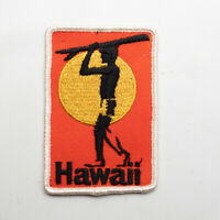 Vintage Hawaii Surfer In the Sun Travel Souvenir Patch