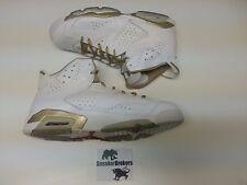 Nike Air Jordan 6 VI Retro Black Gold GMP Golden Moments Size 17. 535357-935