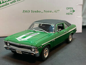 Danbury Mint 1969 Yenko 427 Nova 1/24 Diecast New Opened For Pics Green
