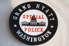 US Grand Hyatt Washington Police Patch