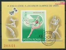 Romania block172 (complete issue) fine used / cancelled 1980 olympic.  (9371094