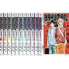 Manga BAKUMAN Pocket edition VOL.1-12 Comics Complete Set Japan Comic F/S