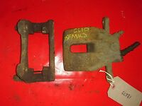 2006 RENAULT CLIO MK3 1.2 PETROL DRIVER SIDE FRONT BRAKE CALIPER AND CARRIER