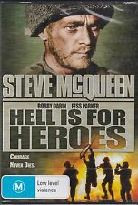 HELL IS FOR HEROES - STEVE MCQUEEN - BOBBY DARIN - FESS PARKER - DVD - NEW