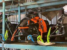 """2021 Arctic Cat® Riot X 8000 146""""/2.60"""" AMS w/ QS3 Shocks Orange"""