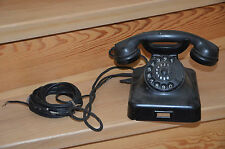 Teléfono con dial, 1954, correos, desván, vintage, antiguo, maravilloso!