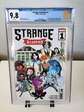 Strange Academy #1 Humberto Ramos Trade Variant CGC 9.8