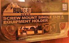 Rugged Gear Single Gun & Equipment Holder Metal Item #10055 **