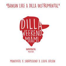 "J DILLA "" BANGIN LIKE A DILLA INSTRUMENTAL "" NEW LP JAY DILLA * COLOURED VINYL *"