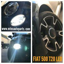 COPPIA LED CANBUS T20 LAMPADE FIAT 500 // L'UNICA SOLUZIONE SENZA ERRORI! CANBUS