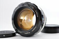 Near mint Nikon S Auto 55mm f1.2 Bright MF Lens w/ Caps From Japan F/S #2032