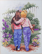 Needle Treasures Forever Friends Cross Stitch Kit JCA 04720 Laurie Snow Hein