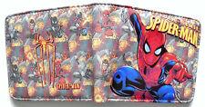 Cartoon Spiderman Spider Sense Wallet 2 credit card slots id window coin pocket