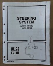 Hyster Steering System A1.00-1.50XL(A20-30XL) Manual, 1600 SRM 364