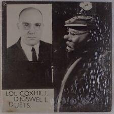 LOL COXHILL: Digswell Duets RANDOM RADAR Orig Free Jazz Avant Garde LP