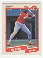 1990  Fleer Ken Griffey Jr. Card #420