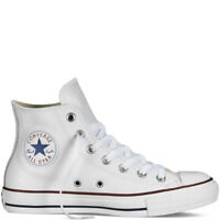Scarpe Converse All Star Bianche in Pelle Classiche  total White unisex