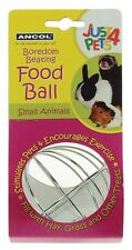 Pet Food Holder Ball Safe and Non Toxic for Small Nesting Areas and Animals