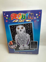 Sequin Art Snowy Owl Craft Set From The Blue Range 1604