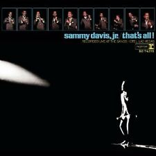SAMMY DAVIS JR. THAT'S ALL REMASTERED 2 CD NEW