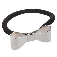 Fashion Polish Metal Bow Tie Hair Band Cuff Wrap Pony Tail Holder Headband  P5N1
