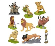 Lion King Simba Nala Playset 9 Figure Cake Topper * USA SELLER* Toy Doll Set