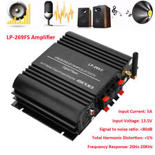 For Lepy LP-269S Bluetooth 4 Channel Stereo Power Amplifier HiFi FM Amp LED