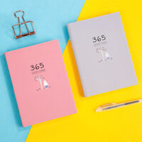32K Hardcover 365 Days Daily Weekly Monthly Planner Cute Personal Diary