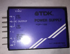 New TDK Power Supply Input/Output (#FCP-102)
