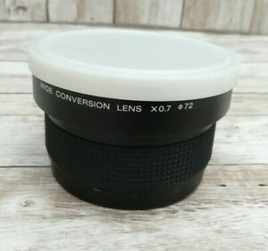 GENUINE SONY VCL-0746B 0.7X WIDE ANGLE CONVERSION LENS,CAMCORDER,HANDYCAM VIDEO8