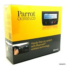Genuine Parrot CK3100 LCD Advance Bluetooth Handsfree Car Kit BLACK RRP £99.99