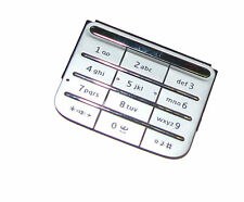 For Nokia C3-01 C3 Touch And Type Replacement Keypad Keyboard Buttons Silver UK