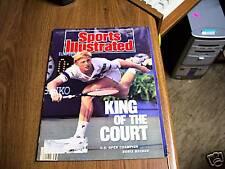 Sports Illustrated 1989 Boris Becker U.S. Open Cover