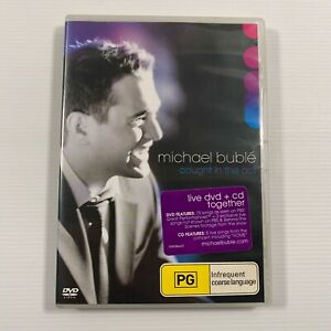Michael Buble Live Caught In The Act (DVD & CD 2005 2 disc-set) Region 2,3,4,5