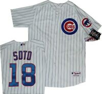 New Chicago Cubs Geovany Soto Home Authentic Majestic Jersey  A6200 $150 SIZE 48
