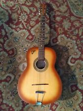 Vintage Eko Fiesta acoustic guitar - 1960s - Made in Italy - Arch back