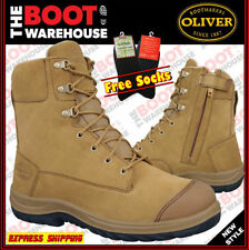 Zip Leather Boots for Men