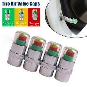 Car Valve Stem Cap Tire Pressure Monitor Valve Cap Sensor Air Pressure Indicator