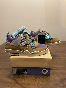 Nike Jordan 4 Retro SP x Union LA Desert Moss Size M 6  W 7.5 100% Authentic
