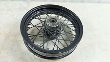 02 Harley Davidson FLHTCI Electra Glide Classic rear back wheel rim spoke