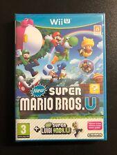 New Super Mario Bros + New Super Luigi U WII-U PRECINTADO!!!
