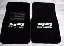 Silverado SS Logo Carpet Floor Mats Chevrolet Silverado SS Single Cab Heat Press