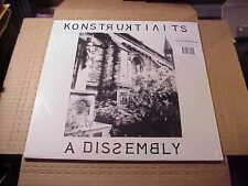LP:  KONSTRUKTIVITS - A Dissemby NEW REISSUE 1983 INDUSTRIAL ELECTRONIC + FLEXI