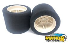 Gomme Tire Foam MATRIX Spugne 1/8 ON ROAD PRECISION 35° shore Rear 8P35FP