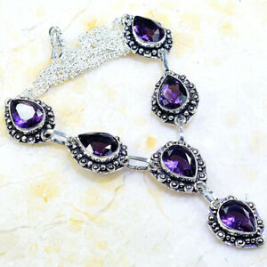 "AMETHYST NECKLACE 19 1/4""; X79731"
